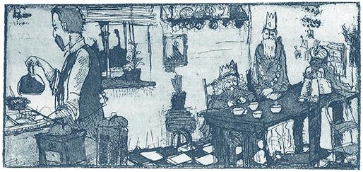 Mats Ciupka, Heike König, Engelchen, die Küche