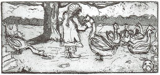 Magarete, Heike König, Mats Ciupka, Fütterung