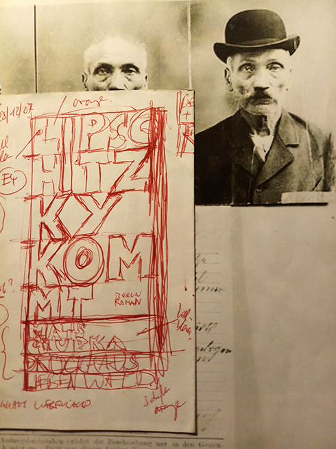 Mats Ciupka , Lipschitzky kommt - Cover Entwurf